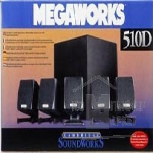 Колонки Creative SoundWorks MegaWorks 510D