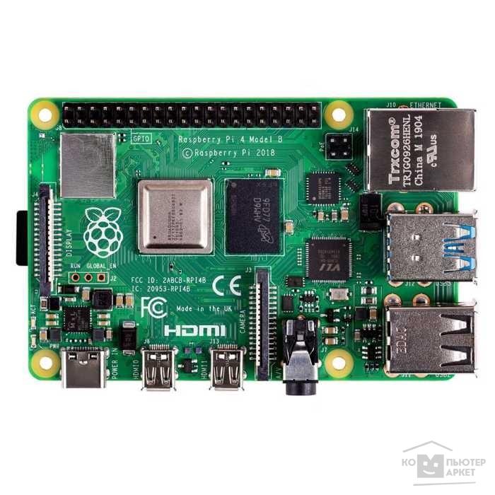 Микрокомпьютер Raspberry Pi 4 Model B 8Gb (44869)/RASPBERRY PI Pi 4 44869
