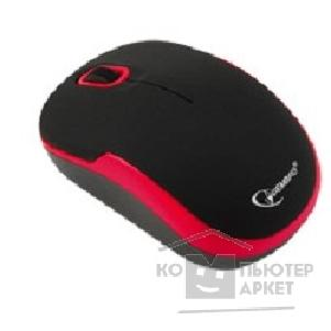Мышь Gembird MUSW-200 Black-Red USB