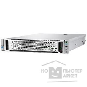 Hp Сервер  ProLiant DL180 Gen9 1 up2 x E5-2609v3 6C 1.9 GHz, 2x8GB-R DDR4-2133, H240/ ZM RAID 1+0/ 5/ 5+0 2x300GB SAS 10K 8/ 16 SFF 2.5''  1x900W up2 , 2x1Gb/ s,DVDRW,iLO4.2,Rack2U,3-1-1 M2G18A