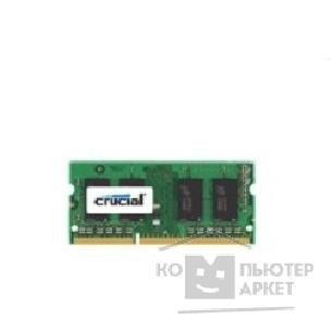 Модуль памяти Crucial DDR3-1066 1GB SO-DIMM [CT12864BC1067]
