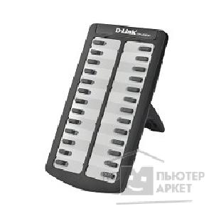 Интернет-телефония D-Link DPH-400EDM/ E/ F3 Extension Module for DPH-400Sx/ E/ F3, 26 programmable keys each with a dual-color LED, powered by the host phone, AC power adapter