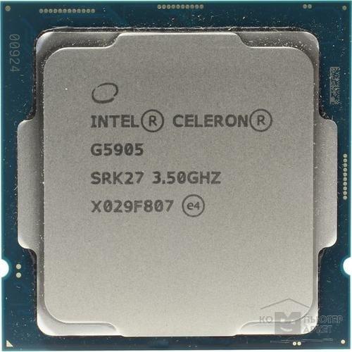 CPU Intel Celeron G5905 Comet Lake BOX / Intel Celeron G5905 BX80701G5905SRK27 - купить в интернет-магазине КомпьютерМаркет | ComputerMarket.ru