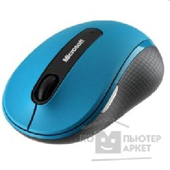 Мышь Microsoft Wireless Mobile Mouse 4000 USB Blue D5D-00029 RTL
