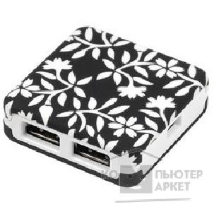 "Контроллер G-cube HUB GUBW-55SG USB 2.0 4 port Black/ White ""Secret Garden"""