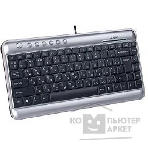 Клавиатура A-4Tech Keyboard A4Tech KL-5, USB серебристо-черный мини, Slim, 7 доп клав.
