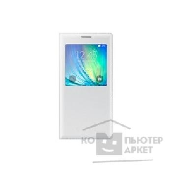 Samsung Чехол для  Galaxy A7 S-View white SAM-EF-CA700BWEGRU