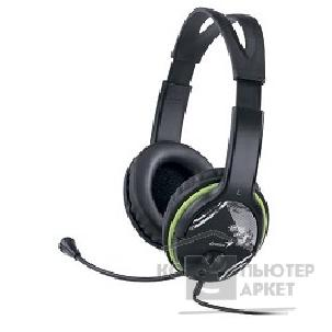 �������� Genius HS-400A, Black/ Green 742455
