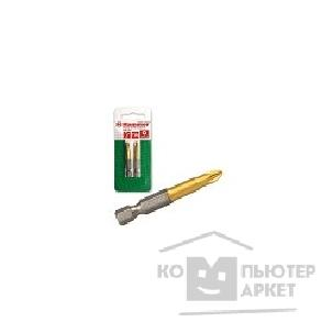 Hammer Бита  Flex 203-132 PB PZ-3 50mm 2pcs  TIN, 2шт. [30729]
