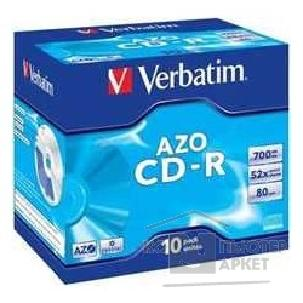 Диск Verbatim CD-R  CRYSTAL AZO LIGHTSCRIBE 700Mb 80 min Jewel [43537]