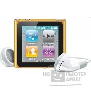 APPLE гаджет MP3 Apple iPod nano 6 8GB - orange MC691QB/ A