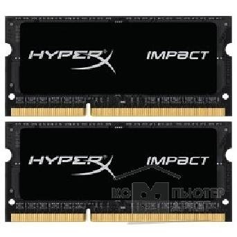 Модуль памяти Kingston DDR3 SODIMM 16GB Kit 2x8Gb HX321LS11IB2K2/ 16