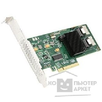 Контроллер Lsi 00194 Контроллер  Logic 00194 SERVER ACC CARD SAS PCIE 8P/ HBA 9211-8I SGL