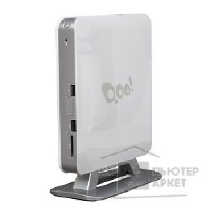 Компьютер 3Q Nettop Qoo! White/ Celeron 1007U/ 1.50 GHz/ NM70/ Wi-Fi/ HDMI/ D-SUB/ Card Reader/ Vesa Mount/ 4GB/ 750GB/ DOS 69020