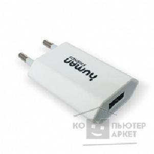 Переходник Cbr Адаптер Human Friends 220V to USB, Flower, White 1000mA