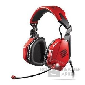 Mad Catz �������� � ����������  F.R.E.Q.5 Stereo Headset - Red MCB434030013/ 02/ 1