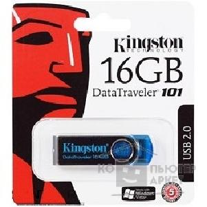 Носитель информации Kingston USB 2.0  USB Memory 16Gb, DT101C/ 16Gb