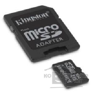Карта памяти  Kingston Micro SecureDigital 512Mb  SDC/ 512 CS/ FE