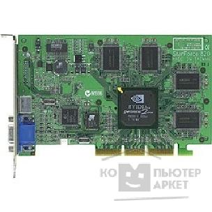 Видеокарта MicroStar SVGA  G2GTS Pro - T32D MS-8820  GeForce2 GTS 32MB DDR TV-out AGP