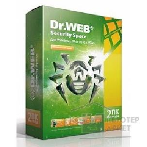 ����������� ����������� Dr. Web BHW-B-24M-2A3 Dr.Web Security Space �� 2 ����, �� 2 ��