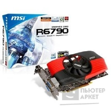Видеокарта MicroStar MSI R6790-PM2D1GD5/ OC RTL, 1GB GDDR5 FAN, Dyal DVI, HDMI, DP, Power Cable, GrossFire PCI-E