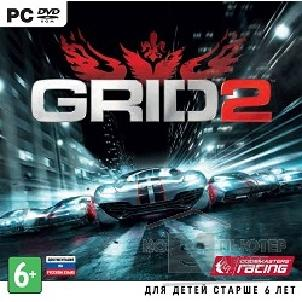Игры GRID 2 [PC, Jewel, русская документация]