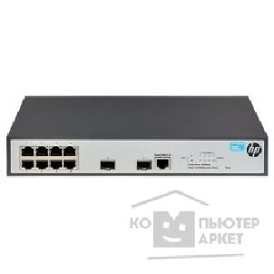 Сетевое оборудование Hp JG920A  1920-8G Switch Web-managed, Limited CLI, 8*10/ 100/ 1000 + 2*SFP, static routing, fanless, rack-mounting, 19""