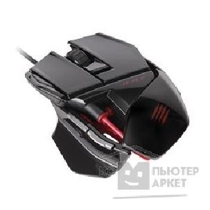 Mad Catz Мышь  R.A.T.3 Gaming Mouse - Gloss Black проводная лазерная MCB4370300C2/ 04/ 1