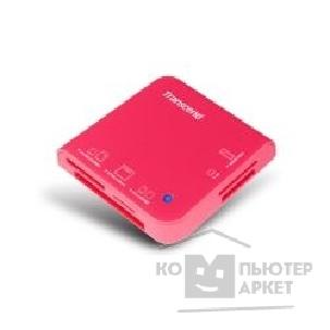 Устройство считывания Transcend USB 2.0 Multi-Card Reader M5 All in 1  [TS-RDM5R] Pink