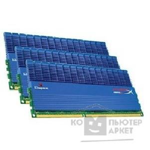 Модуль памяти Kingston DDR-III 6GB PC3-16000 2000MHz Kit 3 x 2GB [KHX2000C8D3T1K3/ 6GX] Hyper X