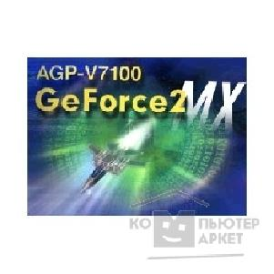 Видеокарта Asus AGP-V7100 32Mb, GeForce2 MX AGP 4X/ 2X, RTL