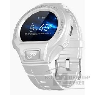 Умные часы Alcatel  OneTouch Go Watch SM03, White/ Light Gray