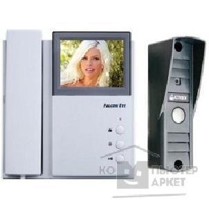 Falcon Eye FE-4CHP2+AVP-505(PAL)темно-серый{Цветной монитор домофона 4-провод., на 2 вызывные панели, настенный, экран 4'', подключение доп. трубки}/FALCON FE-4CHP2/AVP-505 FE-4CHP2/AVP-505