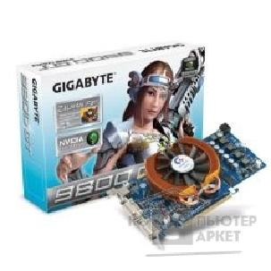 Видеокарта Gigabyte GV-N98TZL-512H, RTL GF9800GT, 512MB , DVI, TV-out  PCI-E