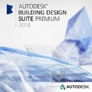 Программное обеспечение Autodesk 765F1-208211-1001  Building Design Suite Premium 2014 Commercial New NLM USB RU