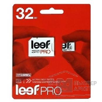Карта памяти  Leef Micro SecureDigital 32Gb  LFMSDPRO-03210R