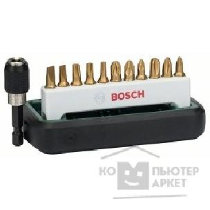 Биты Bosch 2608255991 12 БИТ PH/ PZ/ TORX/ SL TIN