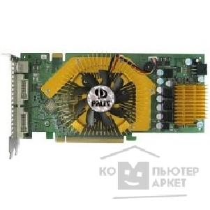 Видеокарта Palit GeForce 9600GSO Sonic 768Mb DDR3 2хDVI TV-out PCI-Express  OEM