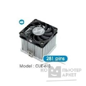 Сooler EVERCOOL CUE-610CA/ B  for S370/ S462, ball