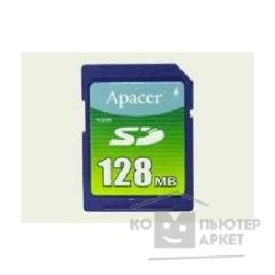 Карта памяти  SanDisk SecureDigital 128Mb Apacer [AP-SD1281]