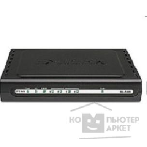 Модем D-Link DSL-2540U/ BRU/ C3B Маршрутизатор ADSL2/ 2+ Router with 4port 10/ 100M switch and splitter AnnexB