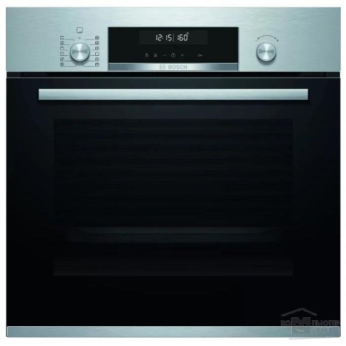 Духовой шкаф Электрический Bosch HBJ577ES0R нержавеющая сталь/черный/Bosch HBJ577ES0R HBJ577ES0R