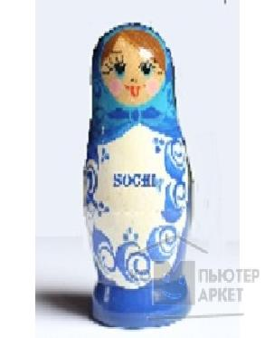 Носитель информации Ikonik USB 2.0 ICONIK RB-DOLL14-16GB МАТРЕШКА СОЧИ 2014