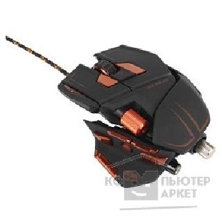Mad Catz Мышь  M.M.O.7 Gaming Mouse - Matt Black проводная лазерная MCB437130002/ 04/ 1 [PCA134]