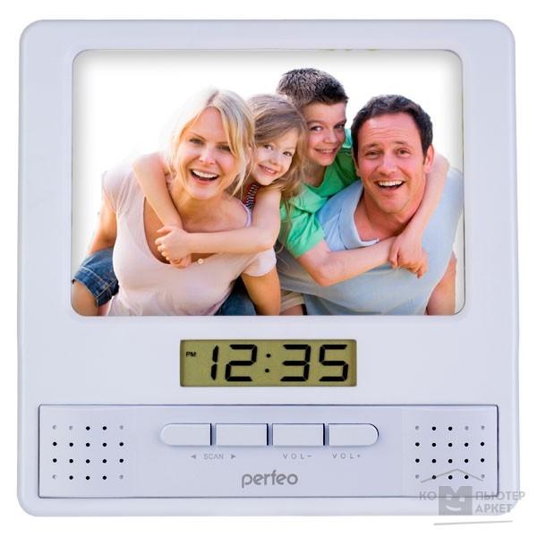 Perfeo Часы-радио-фоторамка
