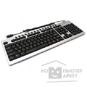 Клавиатура Gembird Keyboard  KB-8300M-SB-R PS/ 2 серебр-черная