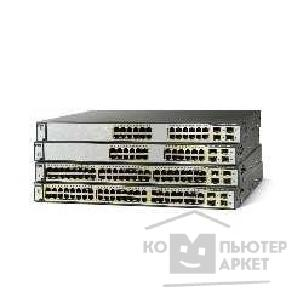 Сетевое оборудование Cisco WS-C3750-48PS-S [Catalyst 3750 48 10/ 100 PoE + 4 SFP Standard Image]