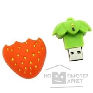 Носитель информации Ikonik USB 2.0 ICONIK RB-STRAW-4GB КЛУБНИКА