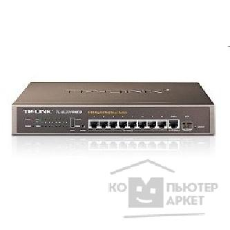 Сетевое оборудование Tp-link TL-SL2210WEB Коммутатор 8+2G Gigabit-Uplink Web Smart Switch, 1 SFP expansion slot