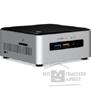 Компьютер Intel NUC BOXNUC6I5SYK, Core i5-6260U, SO-DIMM DDR4, M.2 HDD, Wi-Fi, Bluetooth, GLAN, USB3.0, HDMI + mini DP, NO OS, 65W, Black-Silver